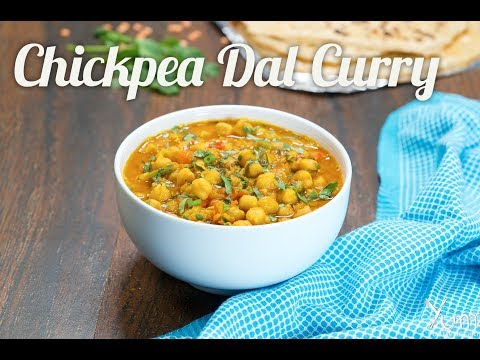 Chickpea Dal Curry | Easy to Make Chickpea Dal Curry | Chickpea Dal Curry Recipe