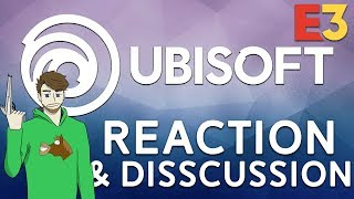 Ubisoft Press Conference (E3 2018) Livestream + Reaction/Disscussion
