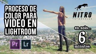 Color para video en Lightroom 5 y Adobe Premiere CC 2014(El proceso de color es aquello que diferencia un video amateur de uno profesional. Te enseño un excelente truco para usar las poderosas herramientas y ..., 2015-04-23T20:35:39.000Z)
