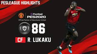 PES 2020 - PES20 OVERAL JOGADORES MANCHESTER UNITED