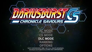 DARIUSBURST Chronicle Saviours (PS4) - First 30 Minutes of Gameplay