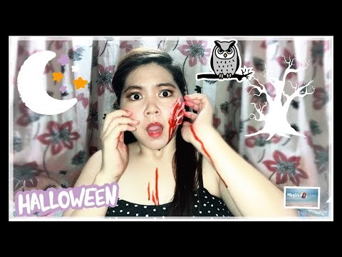 HOW TO MAKE FAKE WOUNDS USING TOILET PAPER || (Not A Pro) || Simply Mhyles😊💕