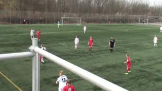 U18DM: BSF-Team Viborg 01-04-2017 Resultat: 1-4, 2.Halvleg del. 1