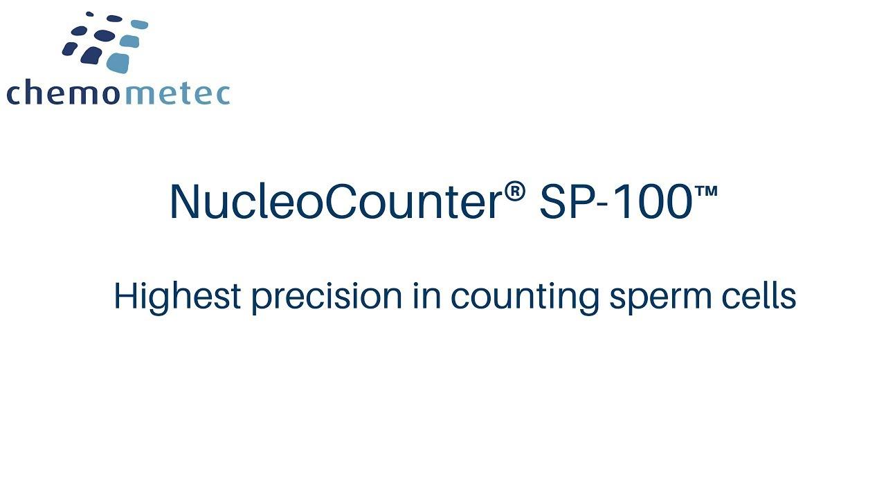 NucleoCounter® SP-100™ - Sperm Cell Counter | ChemoMetec