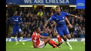 Chelsea vs Nottingham Forest - 51 Goals amp Highlights 2092017 - Carabao Cup