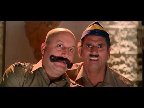 Kader Khan Tortures Anupam Kher Comedy Scene l Taqdeerwala Movie Scenes l Venkatesh Raveena Tandon