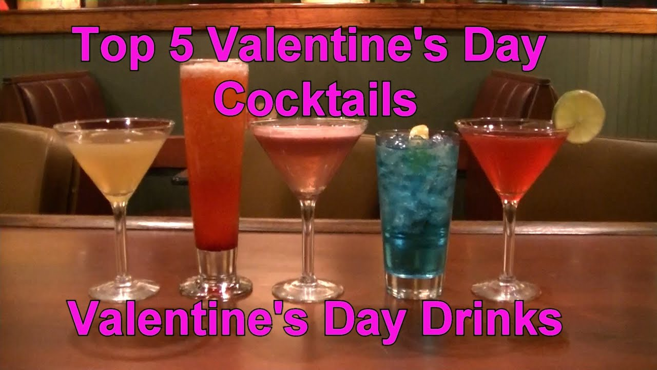 Top 5 valentine 39 s day cocktails valetines day drinks youtube for Best cocktails for valentine s day