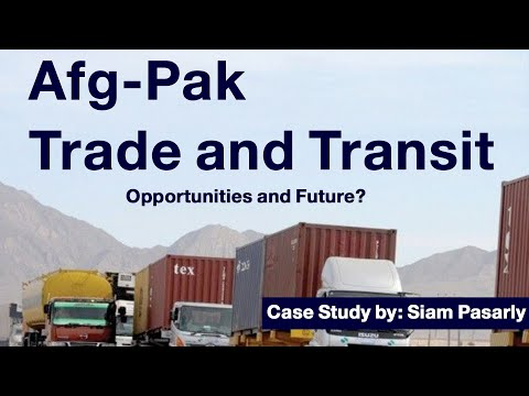 Afg and Pak Business Opportunities