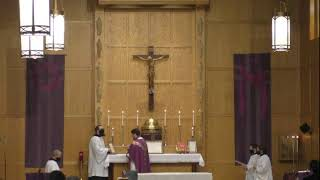 Second Sunday of Lent at St. Alban's Catholic Church – February 28, 2021