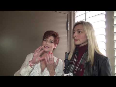 "Carolyn Hennesy ""General Hospital"" interview at Red Carpet Events LA Grammy Lounge"