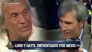 El cara a cara más intenso entre el Lobo Carrasco y Gatti por Messi