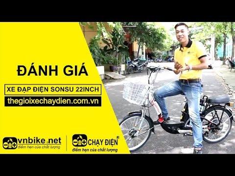Đánh giá xe đạp điện Sonsu 22inch
