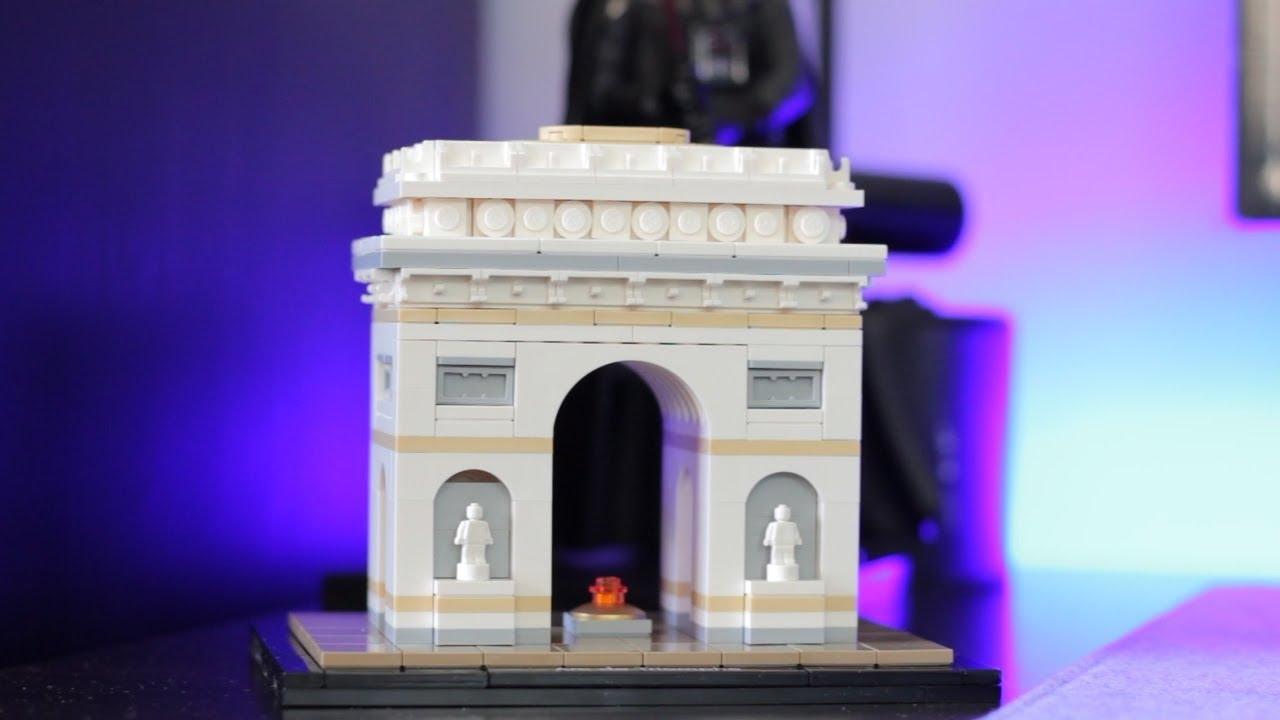 lego architecture 21036 arc de triomphe unboxing. Black Bedroom Furniture Sets. Home Design Ideas