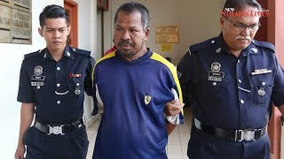 Taiping father-of-four charged with wife's murder