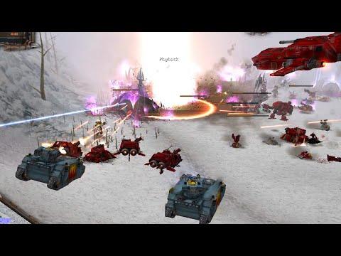 Codex Mod 2020: Dark Eldar and Eldar vs Space Wolves and Blood Angels! Warhammer 40K: DOW: Soulstorm |