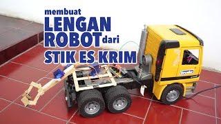 Video Membuat Lengan Robot Sederhana dari Stik Eskrim dikontrol dengan hp Android download MP3, 3GP, MP4, WEBM, AVI, FLV Agustus 2018
