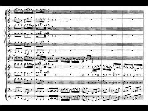 Johann Sebastian Bach: Brandenburg Concerto No1 Sheet Music