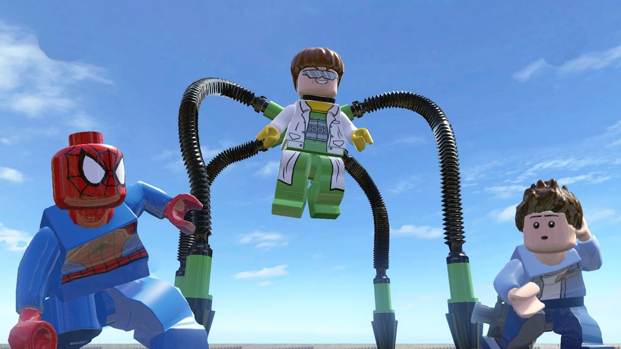 Doctor Octopus Lego