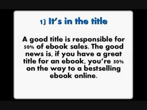 <h1>Sell Ebooks Online | $1M Seller Tells How To Sell Ebooks</h1>