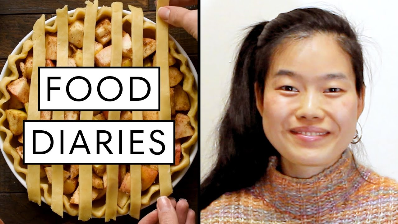 Everything @Delish Chef June Xie Eats in a Day | Food Diaries: Bite Size | Harper's BAZAAR