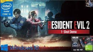 Resident Evil Remake 2 One Shot Demo ON GT 630