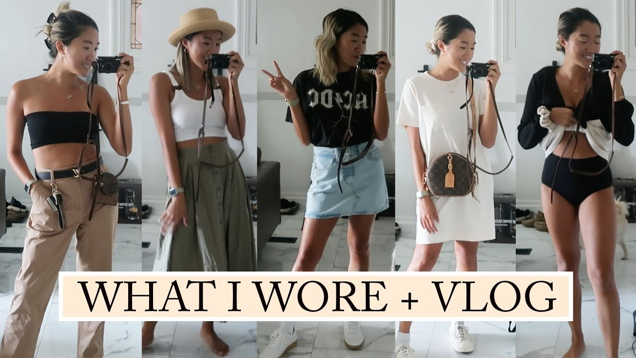 WHAT I WORE THIS WEEK: Summer Outfits + Vlog
