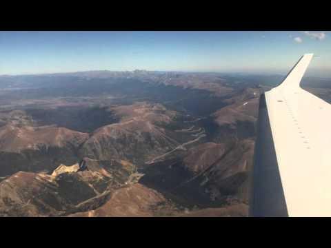 Private Jet...Centennial to Vail Colorado Amazing Views