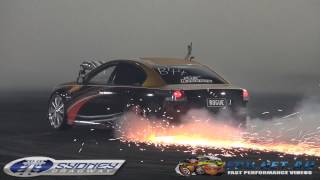 ROGUE FINALS BURNOUT AT BRASHERNATS SYDNEY 2015