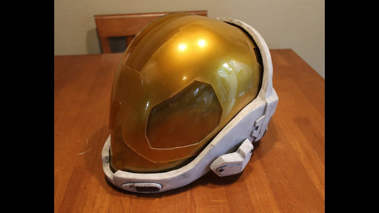 HALO EVA Helmet Prop Tutorial (HD) Lifesized HALO META helmet prop armor