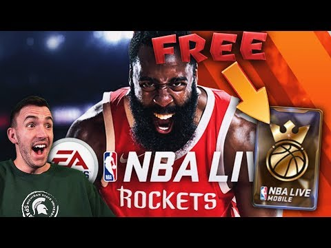 NBA LIVE MOBILE 18 NEWS AND FEATURES + FREE KING OF THE COURT PACK!!