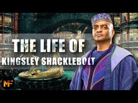 The Entire Life of Kingsley Shacklebolt (Harry Potter Explained)