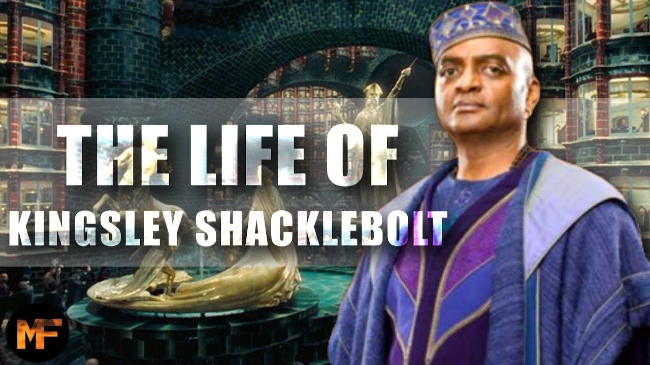 The Entire Life Of Kingsley Shacklebolt Harry Potter Explained Youtube Kingsley Shacklebolt Kingsley Movie Talk