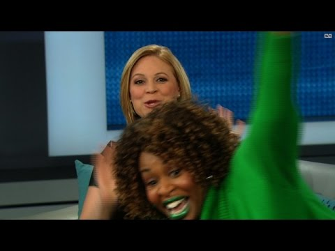 Take GloZell to 'News and a Movie'