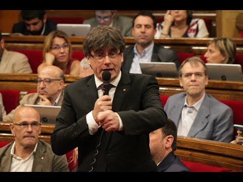 Sessió de control al president de la Generalitat 31/05/2017