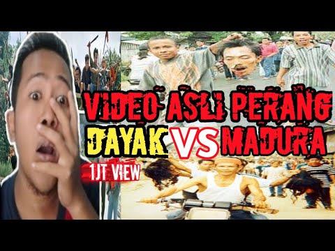 Download Video Asli Perang Berdarah Saat Suku DAYAK VS MADURA Tragedi Sampit 18 Februari 2001 Di Kalimantan