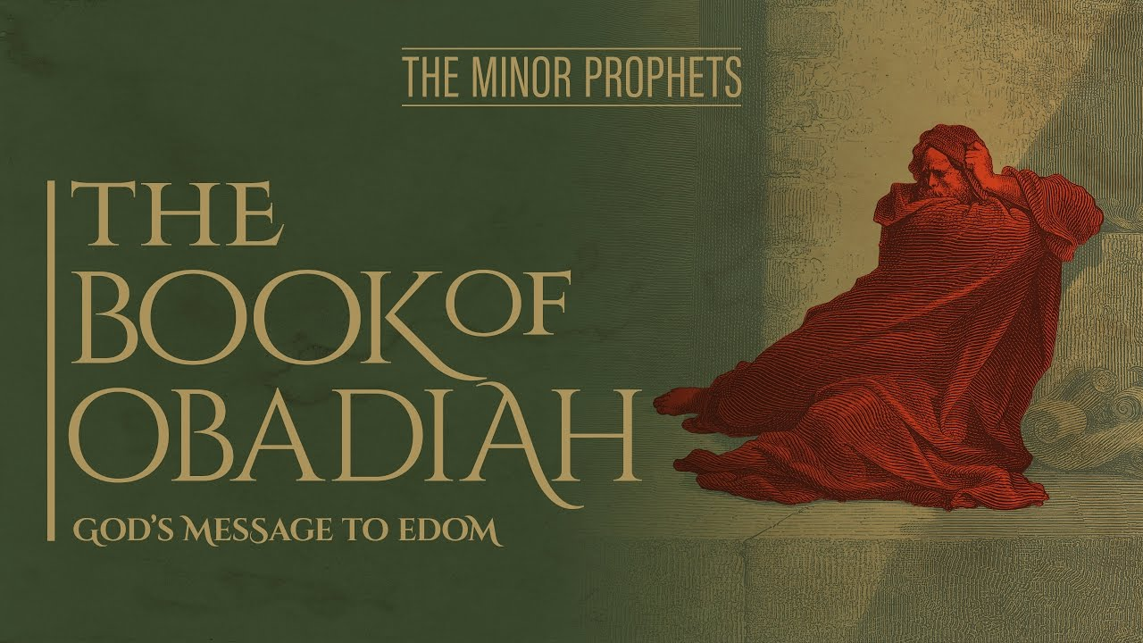 describing the prophet in the book of obadiah in the bible It is very difficult to know when obadiah was written because there is nothing in the heading or introduction of the book to pinpoint the date therefore, we must look in the text of the book for historical clues that point to the date.