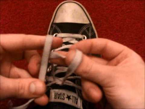 How to tie your shoes super fast