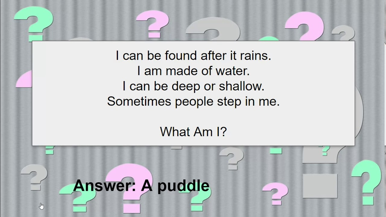 How to Write a Riddle Poem