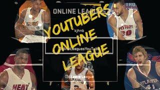 NBA 2K15 PS4 YouTubers Online League Ep.3 - Westbrook Scores 51 vs. KrispyFlakes!