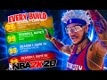 I used EVERY BUILD in NBA 2K20 for the LAST TIME EVER.. and it made me cry