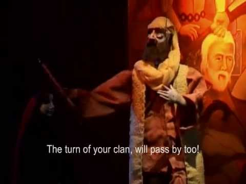 Puppet Opera Rumi (Mowlavi, Molana) with English Subtitled (Complete 2 Hours)