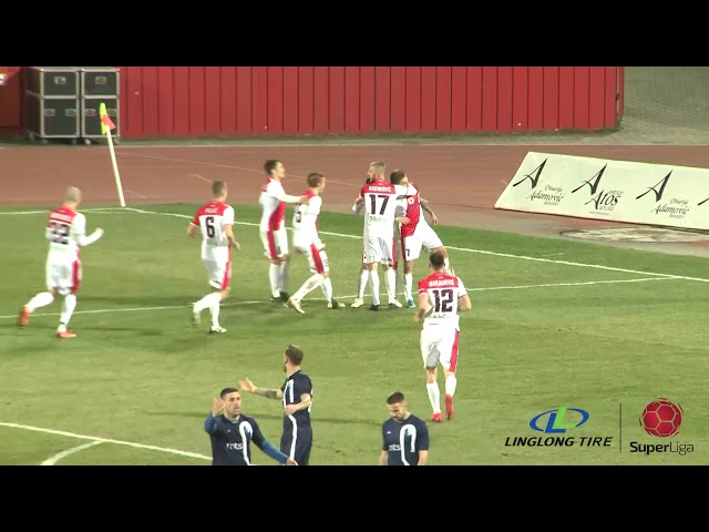 Linglong Tire Super liga 2019/20 - 26.Kolo: PROLETER – RAD 5:0 (1:0)