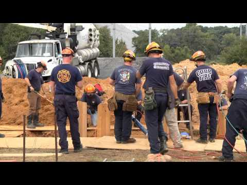 In The News - Trench Rescue Training