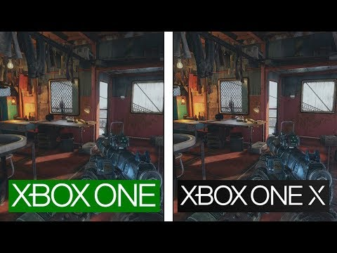 Metro Exodus | ONE vs ONE X | 4K GRAPHICS  & FPS COMPARISON