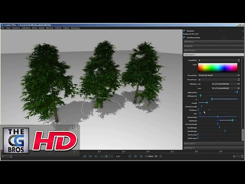 "CGI VFX Technical Presentation HD:  ""Flora  Creation""  by - Fabric Engine"