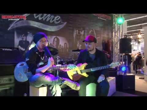 Musikmesse 2013 - FAME Forum Heavy Relic Vintage Look Guitar (deutsch)