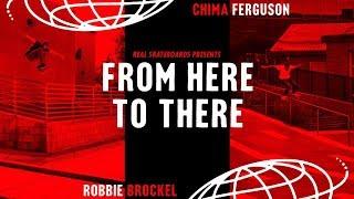 Chima Ferguson and Robbie Brockel's