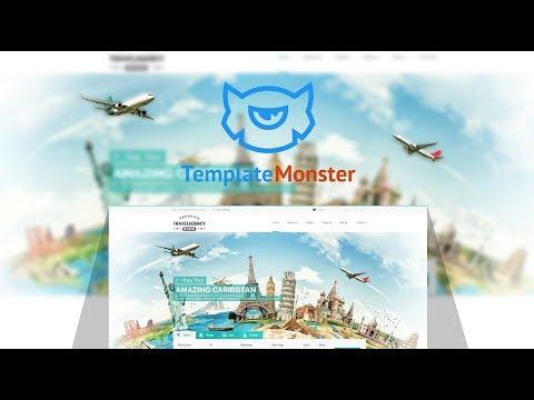 Travel Agency Website Template #65337