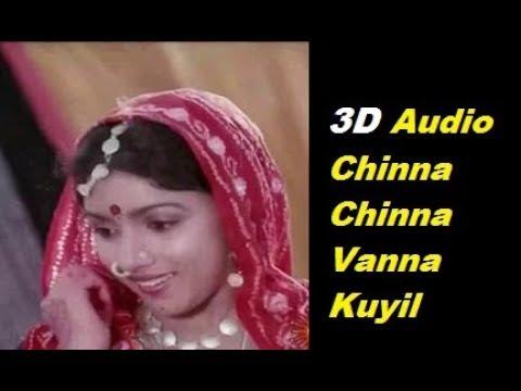 3D| Chinna Chinna Vanna Kuyil Song | Next Level Audio | HEADPHONE MUST