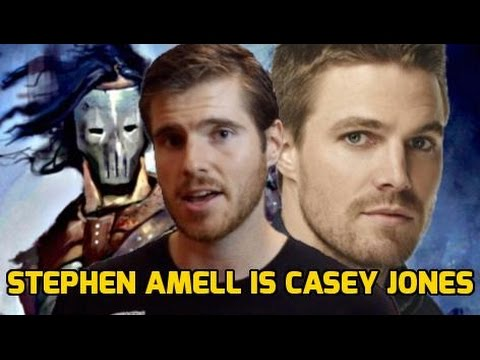 Stephen Amell Cast as Casey Jones in TMNT 2!